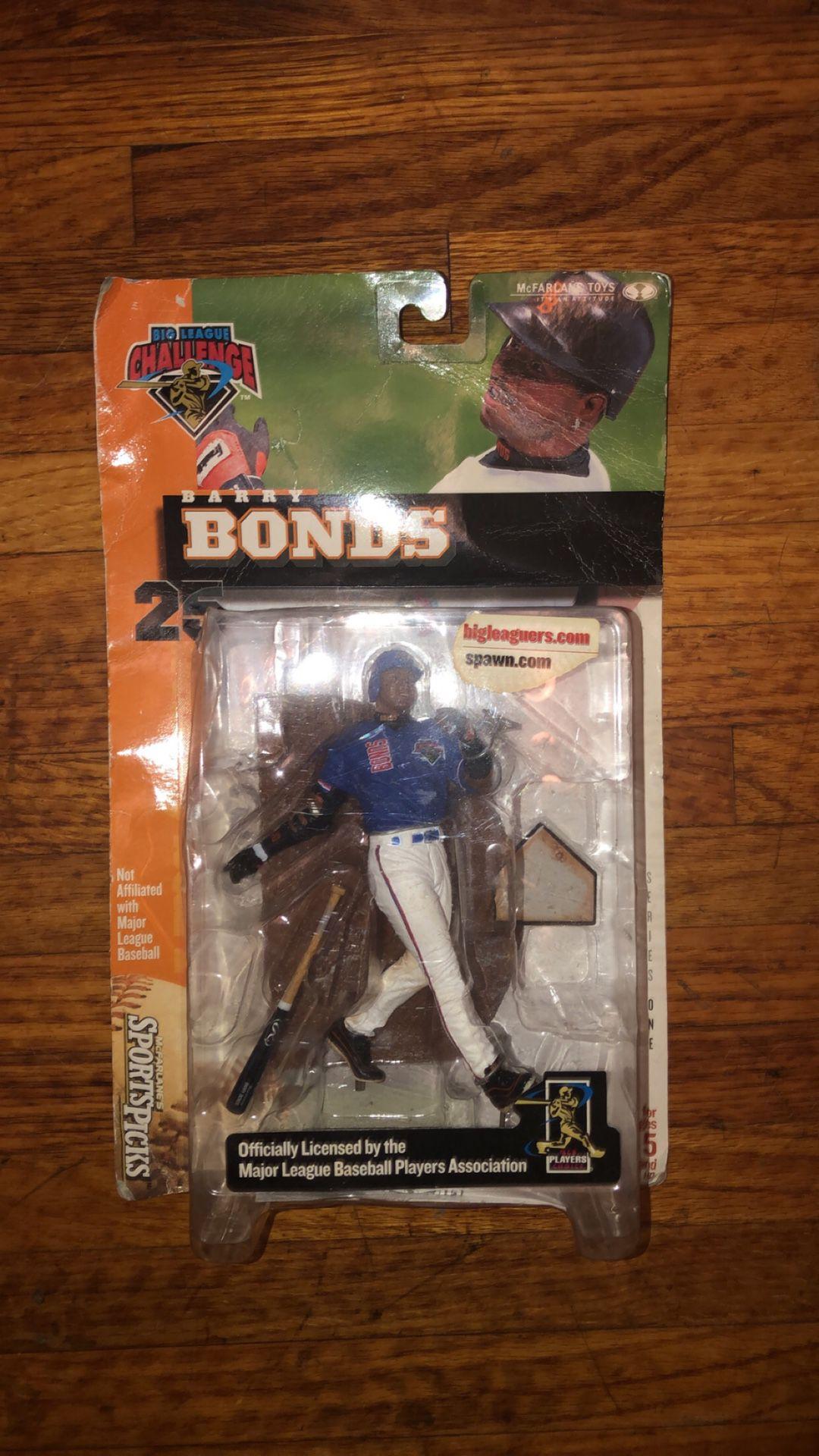 Authentic Barry Bonds MLB action figure