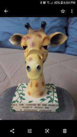 Wood eyeglasses HOLDER .giraffe Thumbnail