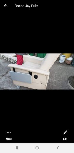 Geri Chair With Side Tray Thumbnail