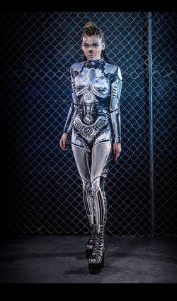 Handmade: Robot Womens Costume  Thumbnail