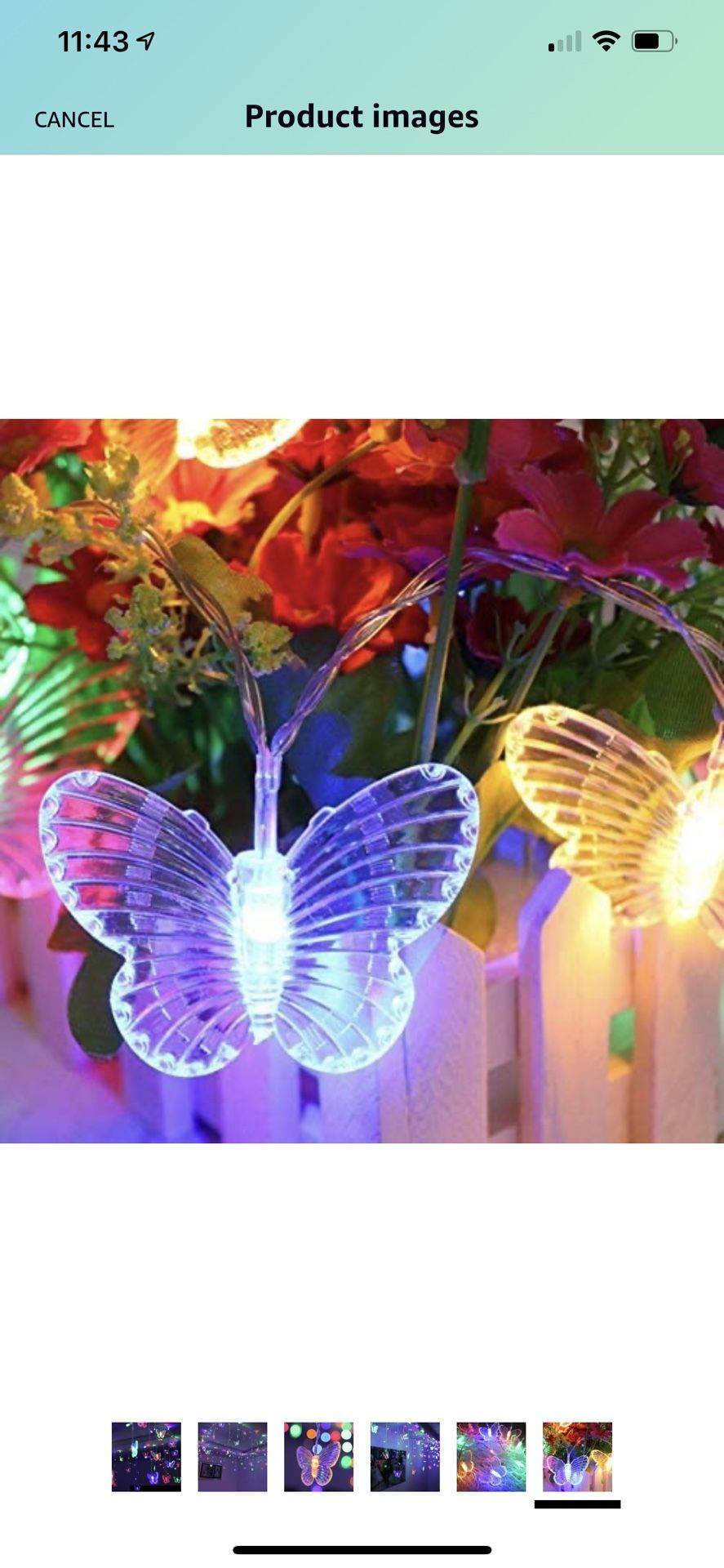 11.5 Ft LED Butterfly String Lights, B bangcool Valentine's Day 96 Butterflies Lights Decor for Indoor/Outdoor/ Christmas/Birthday/Holiday/Valentine/W