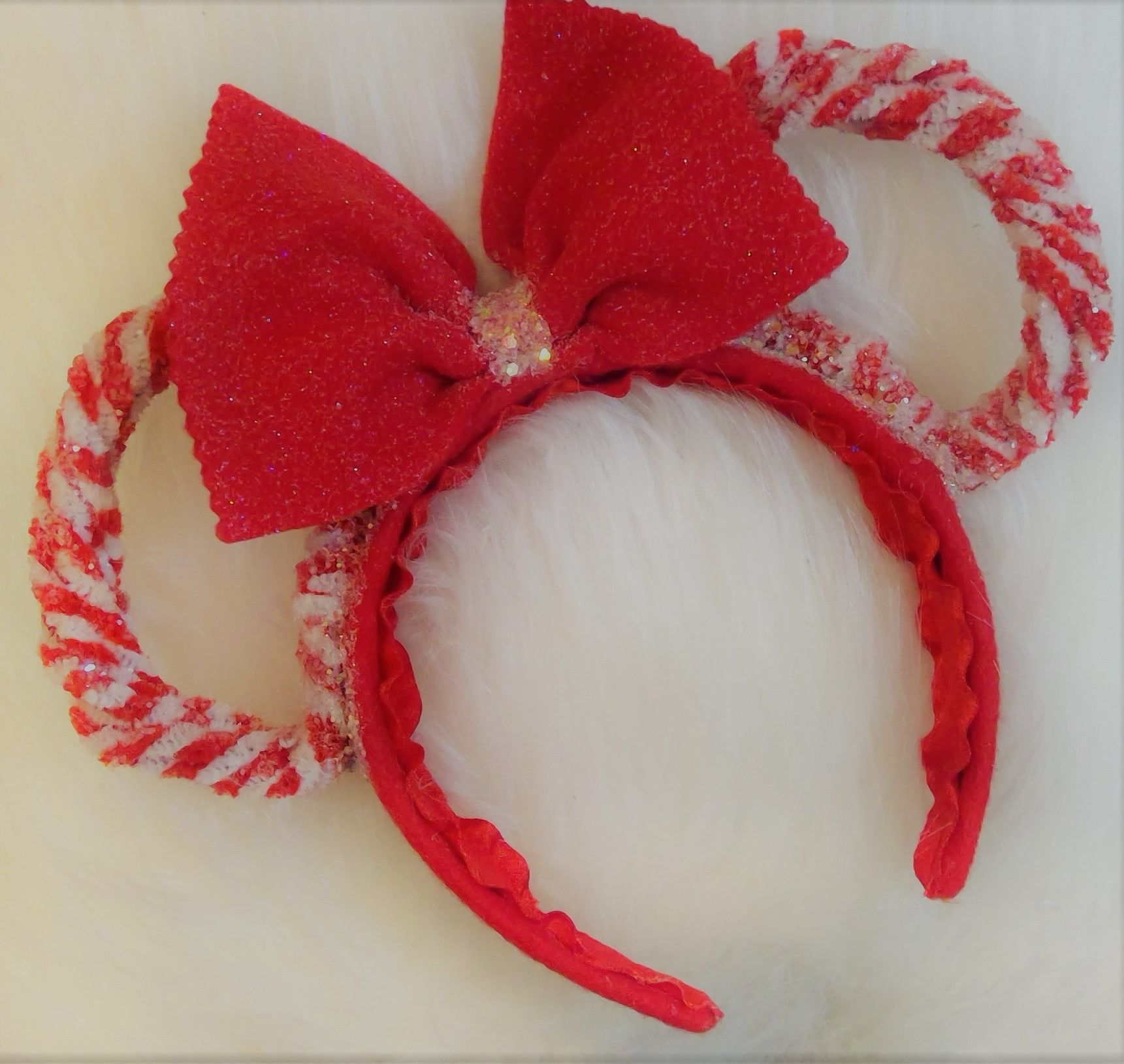 Minnie Mouse Peppermint Scented Headband ears