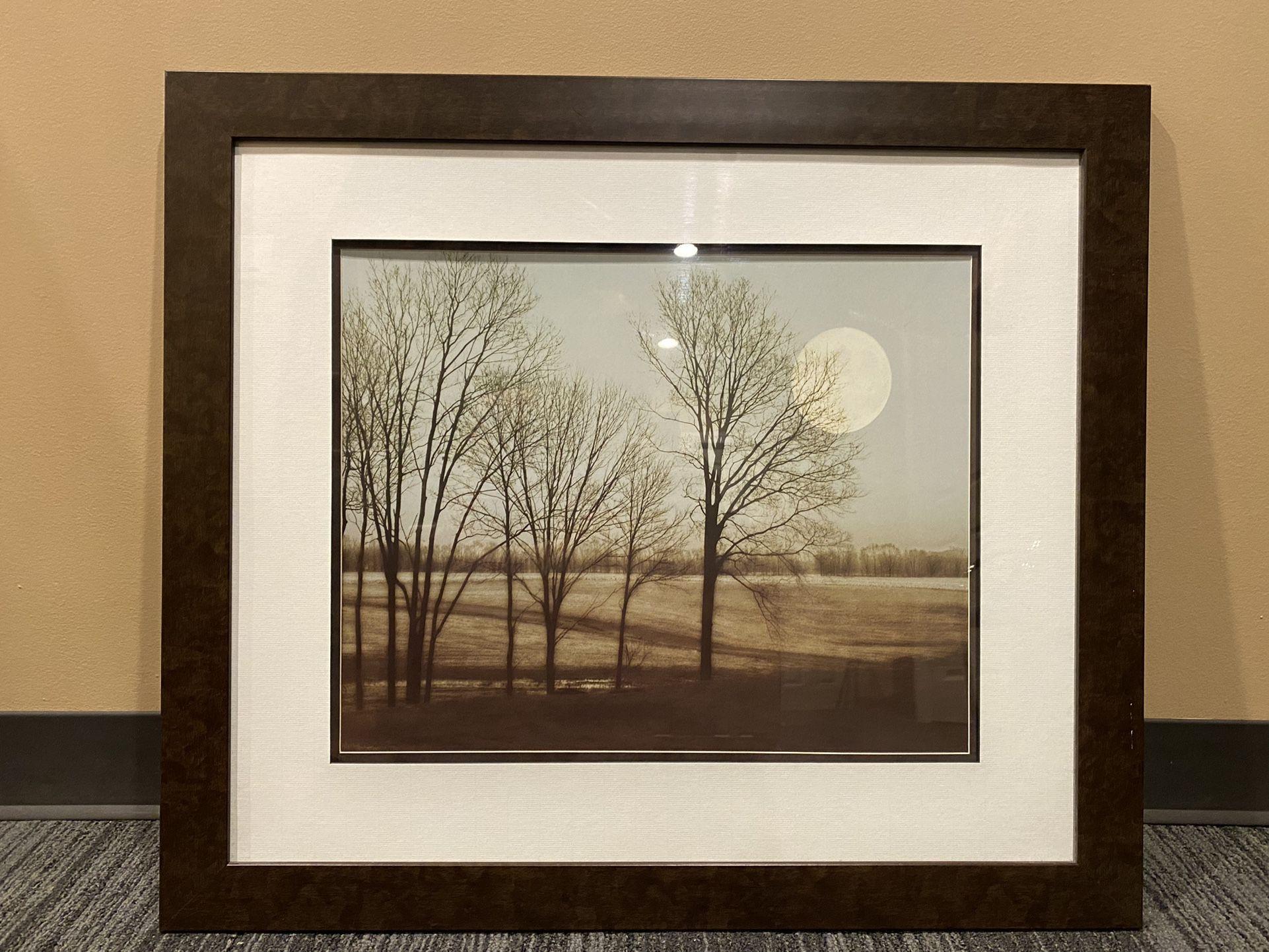 Framed Landscape Art Print