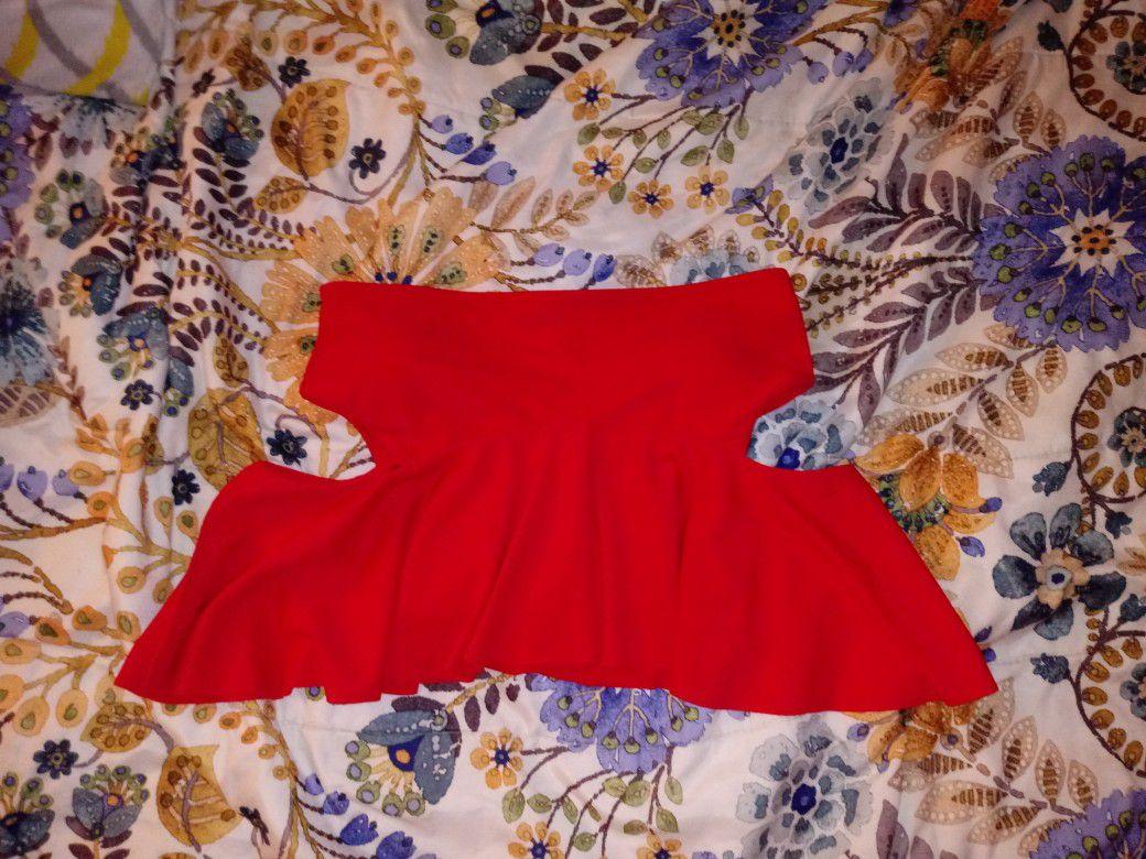 Red Bikiny Top