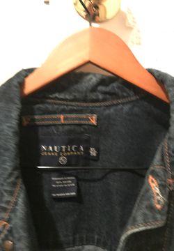 Náutica XL blue denim men's jacket Thumbnail