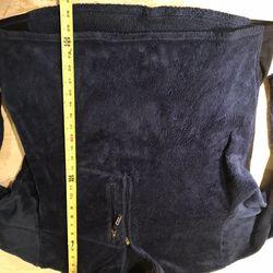 Patagonia Furry Fleece 1/4 Zipped Blue Jacket Sz Large Thumbnail