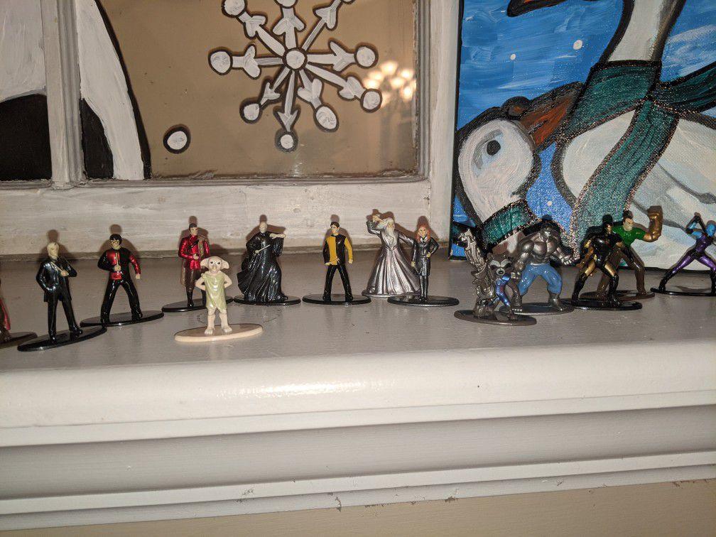 Harry Potter / marvel figures