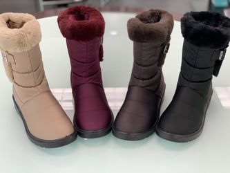 Winter Warm Snow Women's Boots Sizes 5.5, 6,6.5,7,7.5,8,8.5,9,10 ...$25 Per Pair Ask For Your Size And Color  Thumbnail
