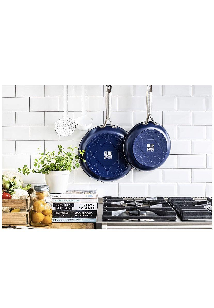 Blue diamond cooking pans