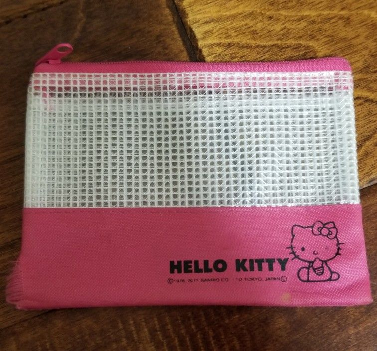 Authentic Hello Kitty Coin Purse From Japan