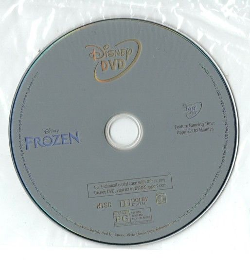 FROZEN - DVD Animated / Children & Family