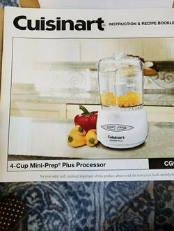 Cuisinart Mini Food Processor 4cups Thumbnail