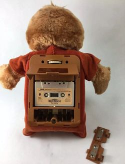 Vintage Retired 1984-1985 TEDDY RUXPIN Talking Toy Bear With Tape (The Airship) Works DS USA Sound Works Thumbnail