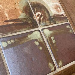 MCM Tile Plant Stand Trivet Tray Thumbnail