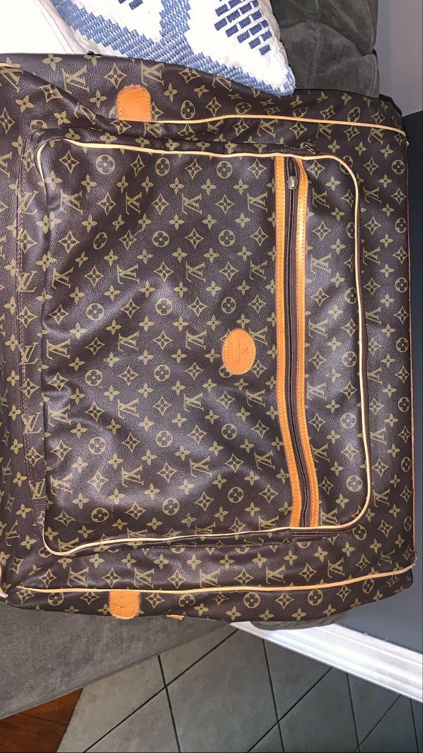 Authentic Louis Vuitton Monogram Garment Travel Bag
