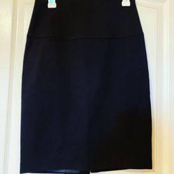 Long Black Pencil Skirt  Thumbnail