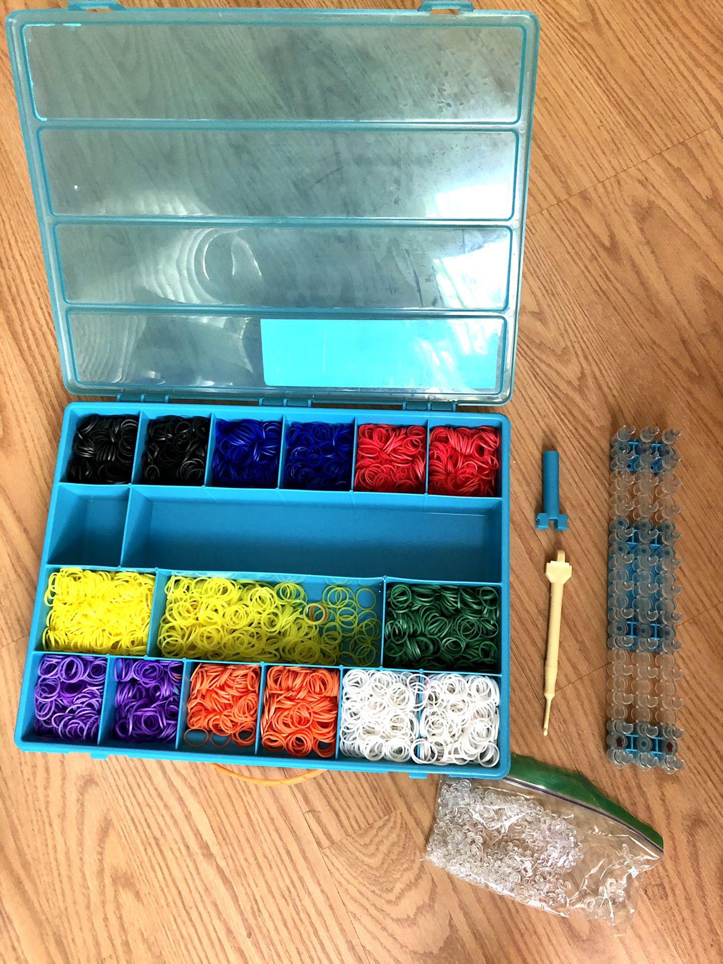 Rainbow loom 🌈 Ready For creativity