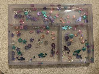 Mermaid Glitter Multipurpose Tray Thumbnail