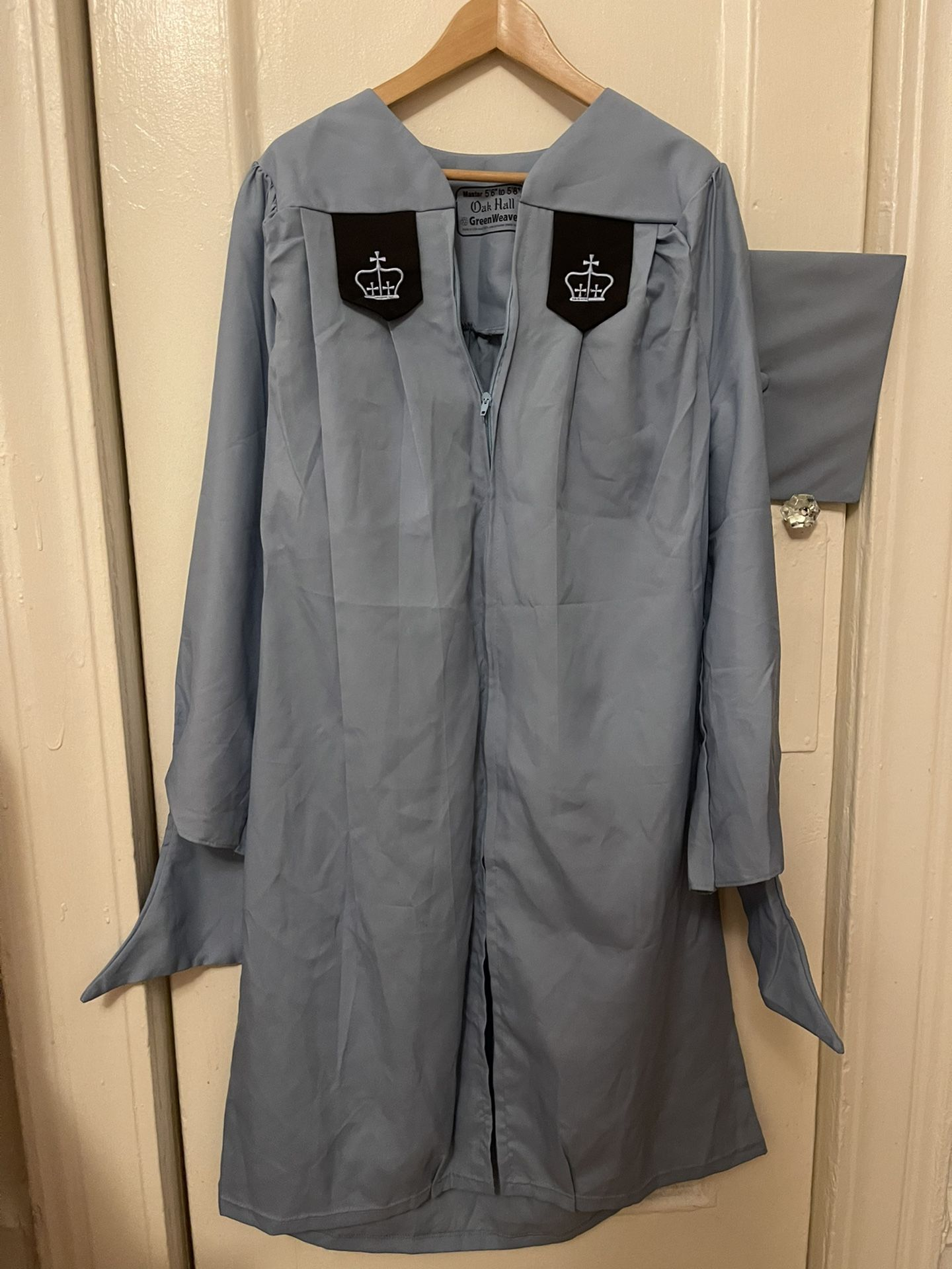 Columbia Univerity Master Graduation Gown