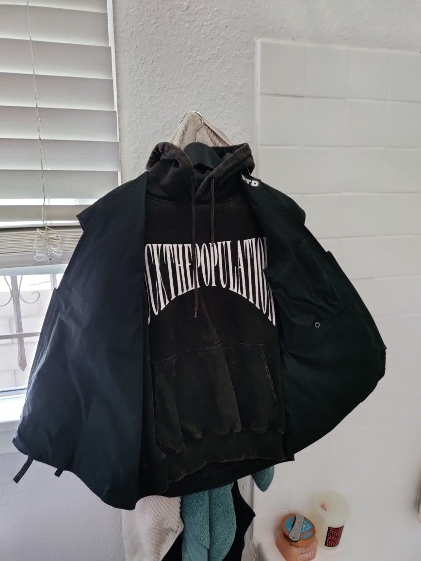 FTP Tactical vest + 2016 Over Dyed Hoodie