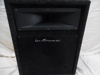 Live Performance Speaker Thumbnail