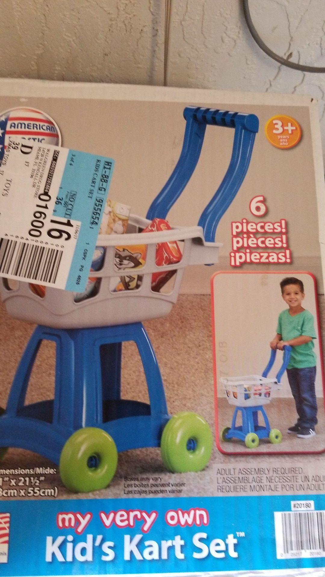 Cart set toy