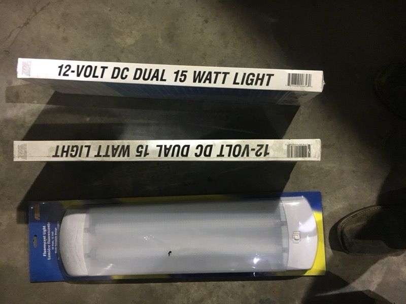 RV, Trailer or Mobil Home Lights