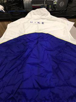 Nike vintage windbreaker vest L-XL Thumbnail