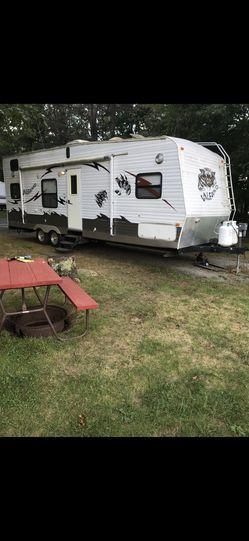 2008 Palomino Toy Hauler camper Thumbnail