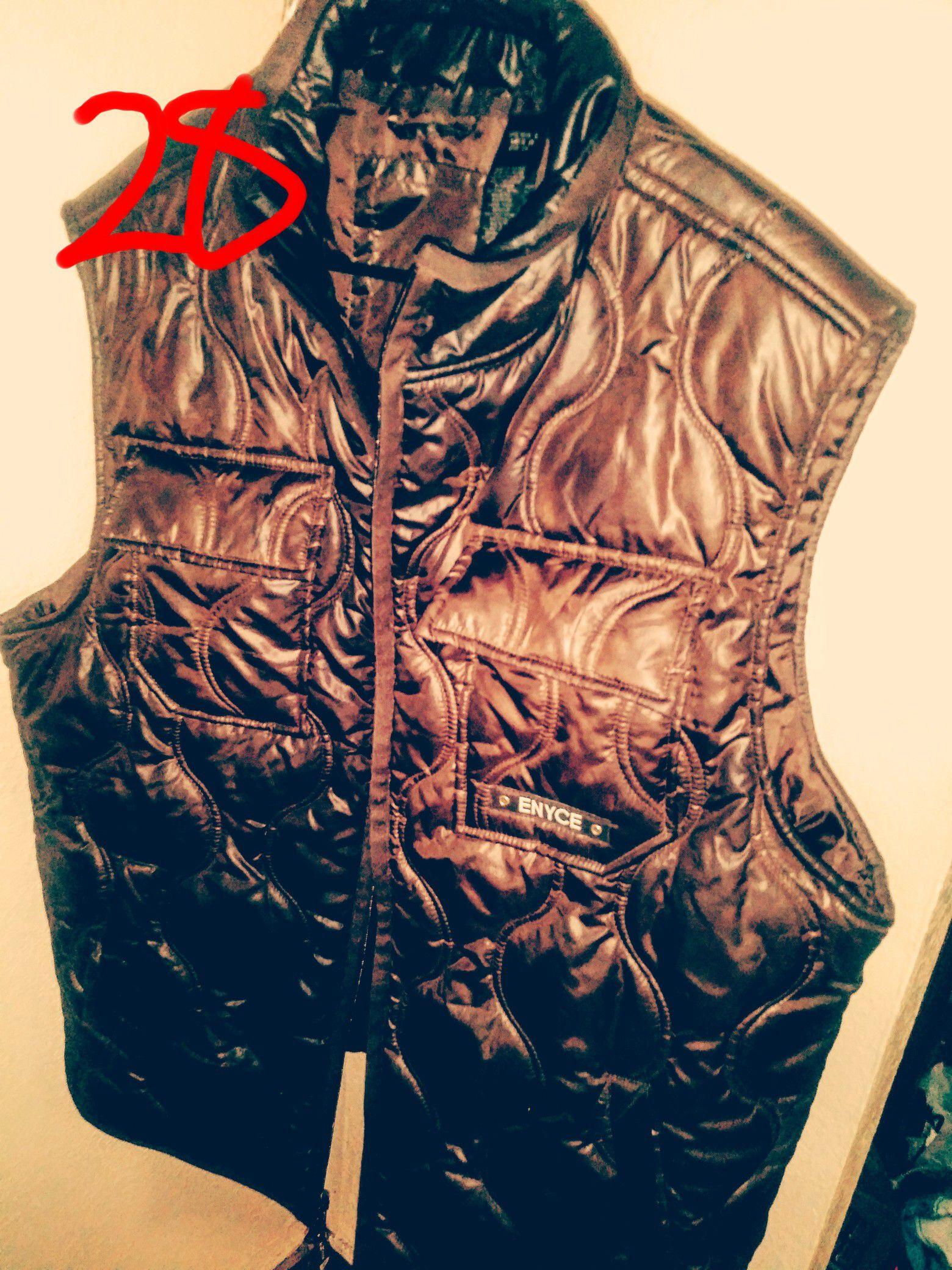Extra large men's name brand Brown vest