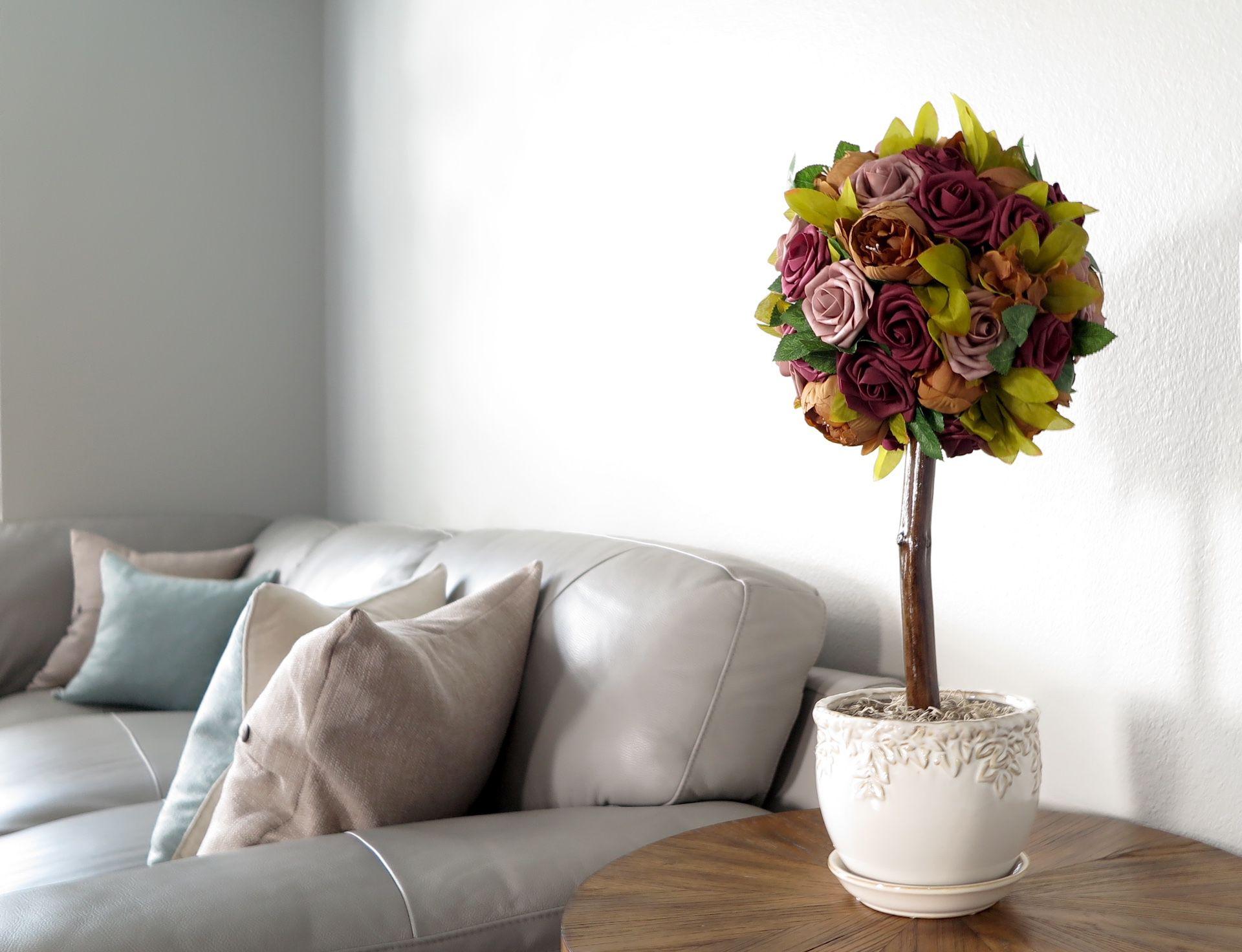 Flower Decor, Large Topiary Tree