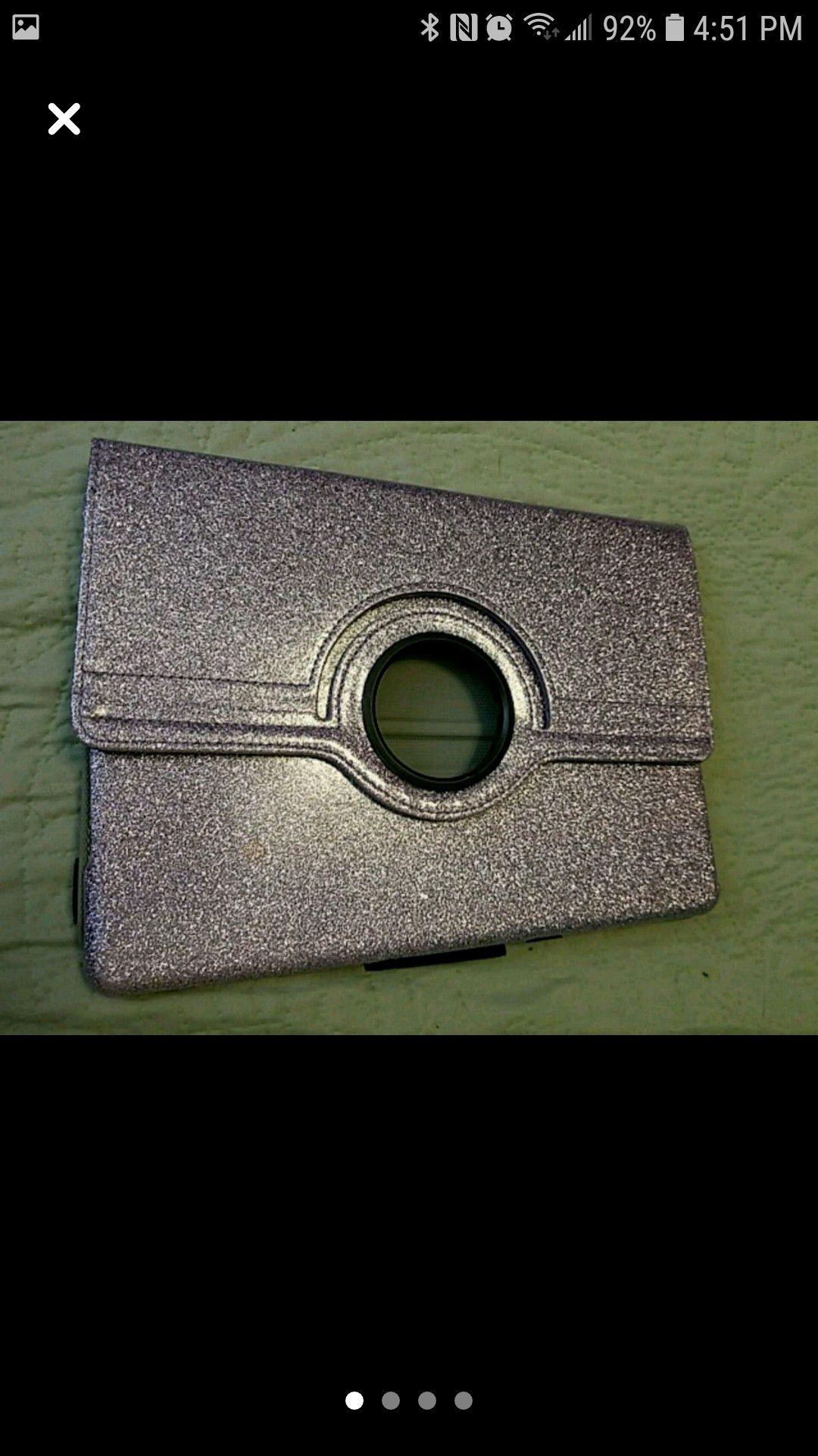 Purple sparkly Ipad case