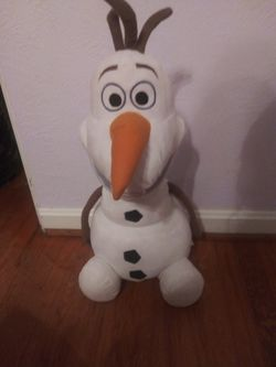 Olaf ( From Frozen) Pillow Thumbnail