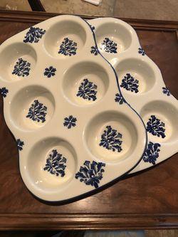Pfaltzgraff ceramic muffin pan Thumbnail
