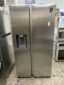 Samsung 2021 Side By Side Counter Depth Refrigerator  Thumbnail