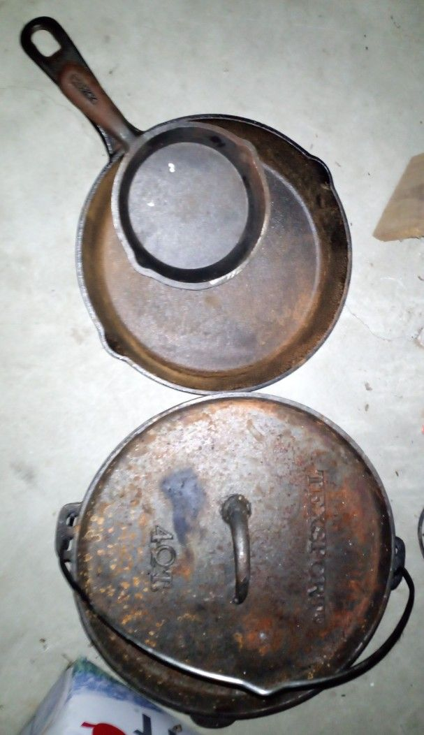 Cast Iron Cookware---- More Added On