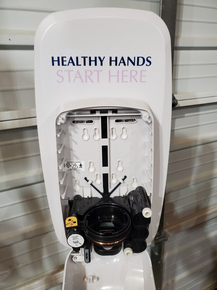 purell automatic dispense hand sanitizer with floor mount stand