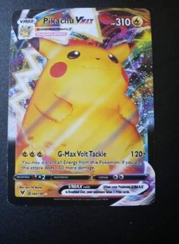 Pikachu Vmax Pokemon card