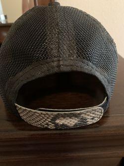 Genuine Python Fishnet Cap Thumbnail