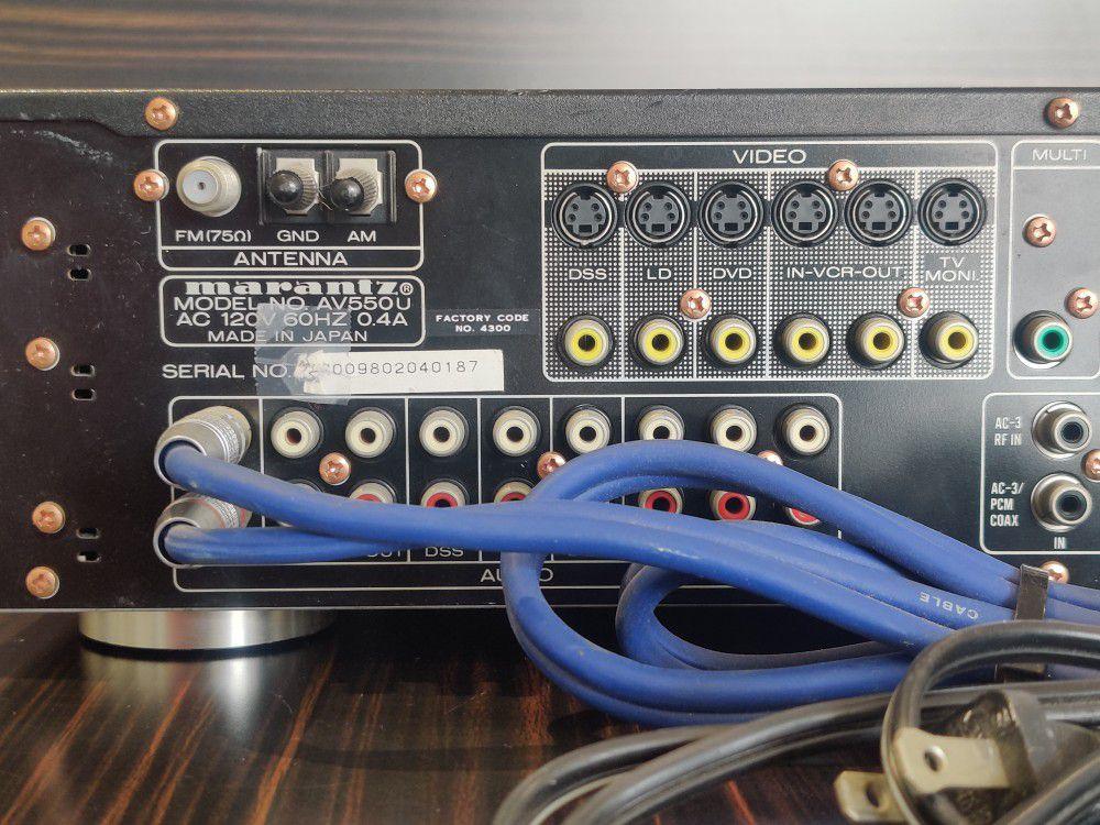 Marantz AV550 Pre Amplifier Tuner