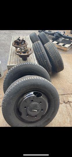 89 Toyota Pickup Dually Axle And Wheels Thumbnail