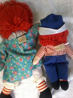 RAGGEDY ANN AND ANDY BY APPLAUSE Thumbnail