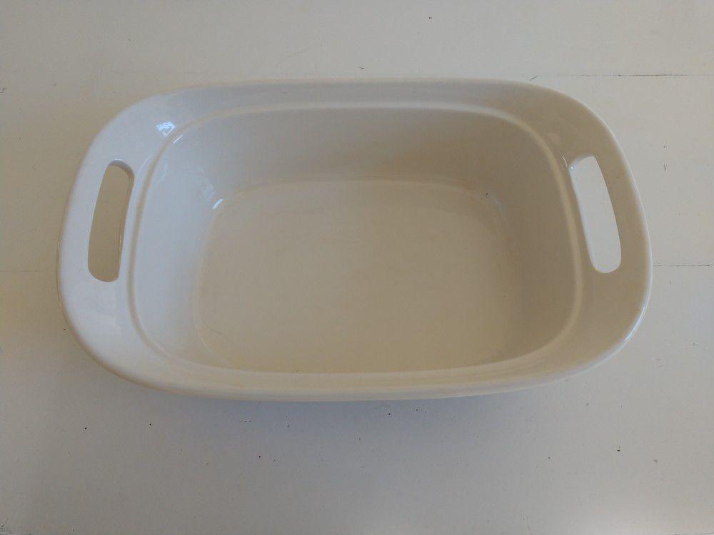 Corningware Etch 2.5-Quart Square Dish
