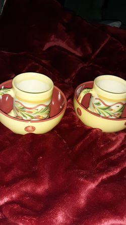 Coffee and bowl set Thumbnail