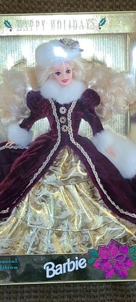 1996 Holiday Barbie Unopened