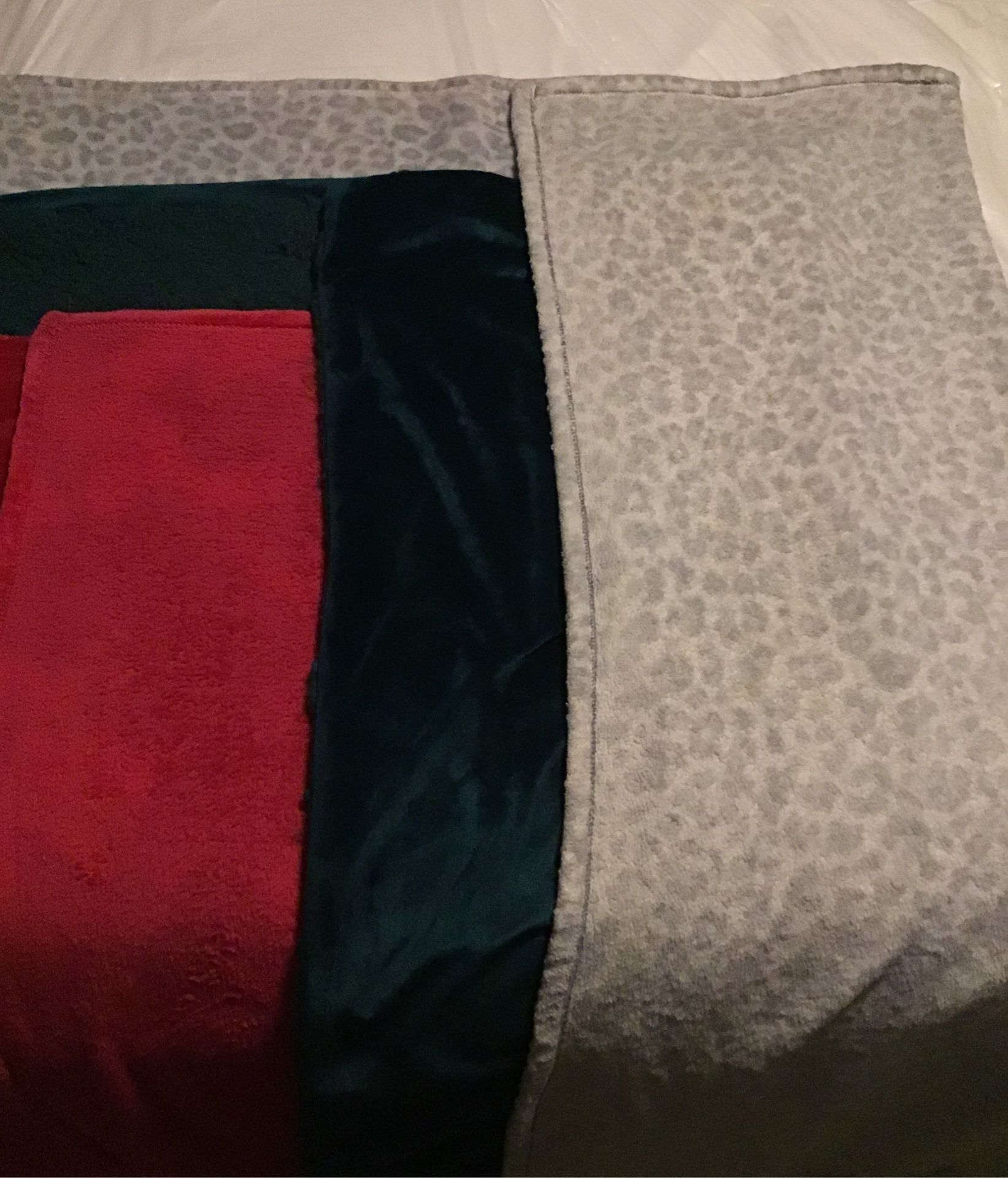 3 throw blankets
