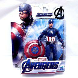 Hasbro Marvel Avengers CAPTAIN AMERICA 6 Inch Action Figure NEW Thumbnail