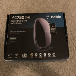 Belkin AC750 Wi-Fi Dual-Band AC+ Router Thumbnail