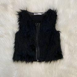 Deux Par Deux Girls Fur Vest Size 5 Thumbnail