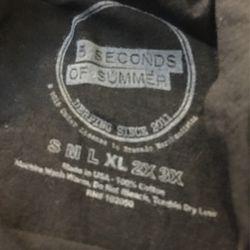 5 Seconds Of Summer Sleeveless Shirt Thumbnail